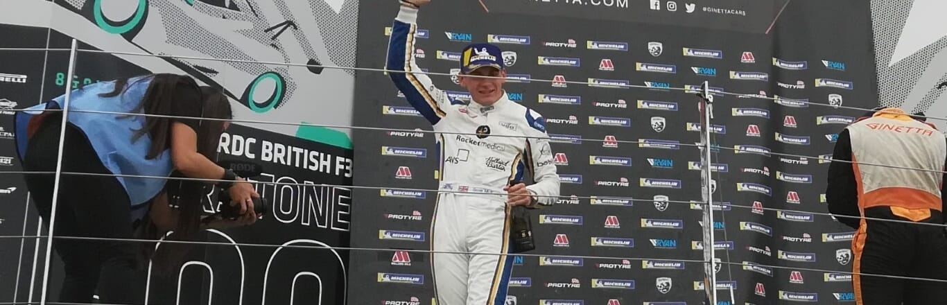 Back to back wins for Scott McKenna at Silverstone
