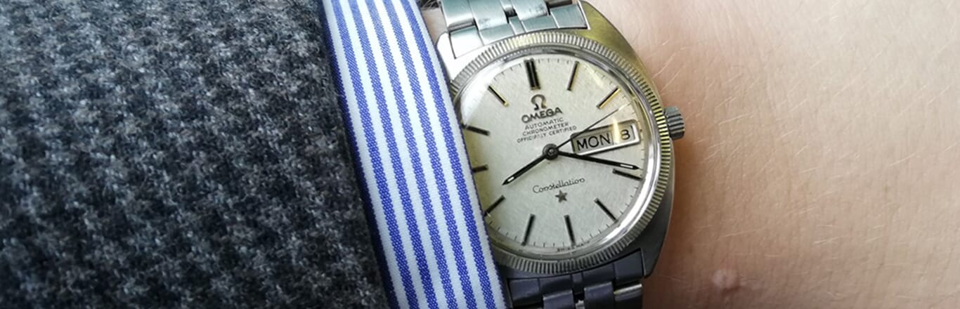 My First Swiss Watch - The Story Of My Omega Constellation