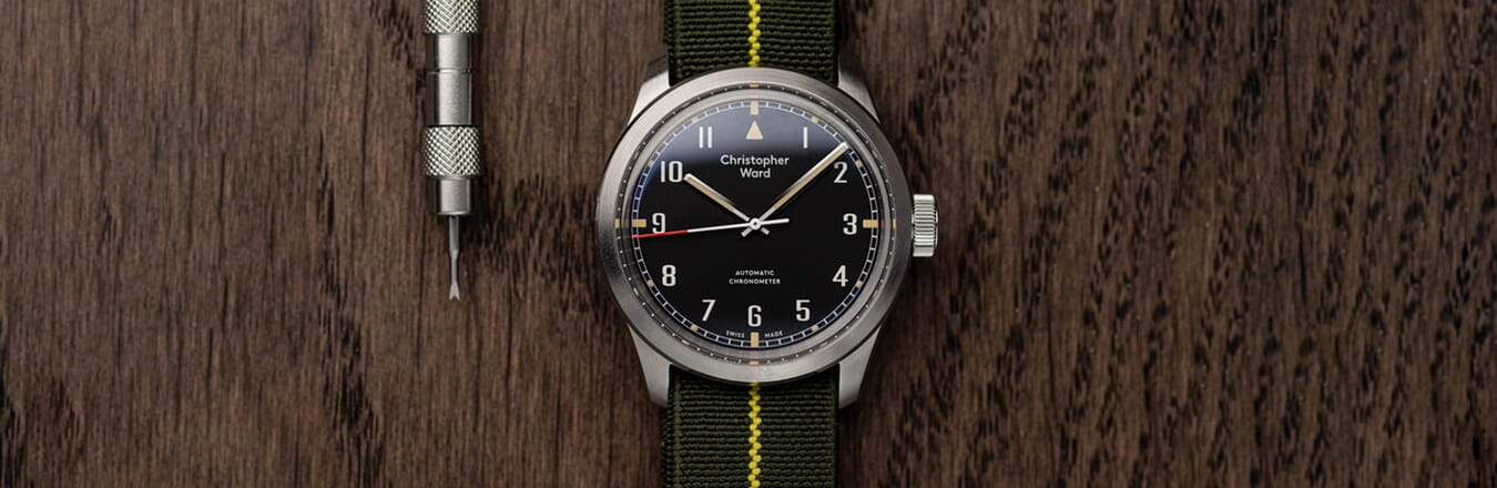 A Look At The Christopher Ward Military Collection