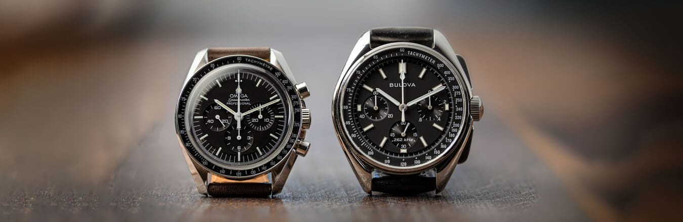The Omega Speedmaster vs The Bulova Lunar Pilot Chronograph