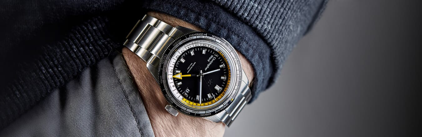 Introducing The New C65 GMT Worldtimer from Christopher Ward
