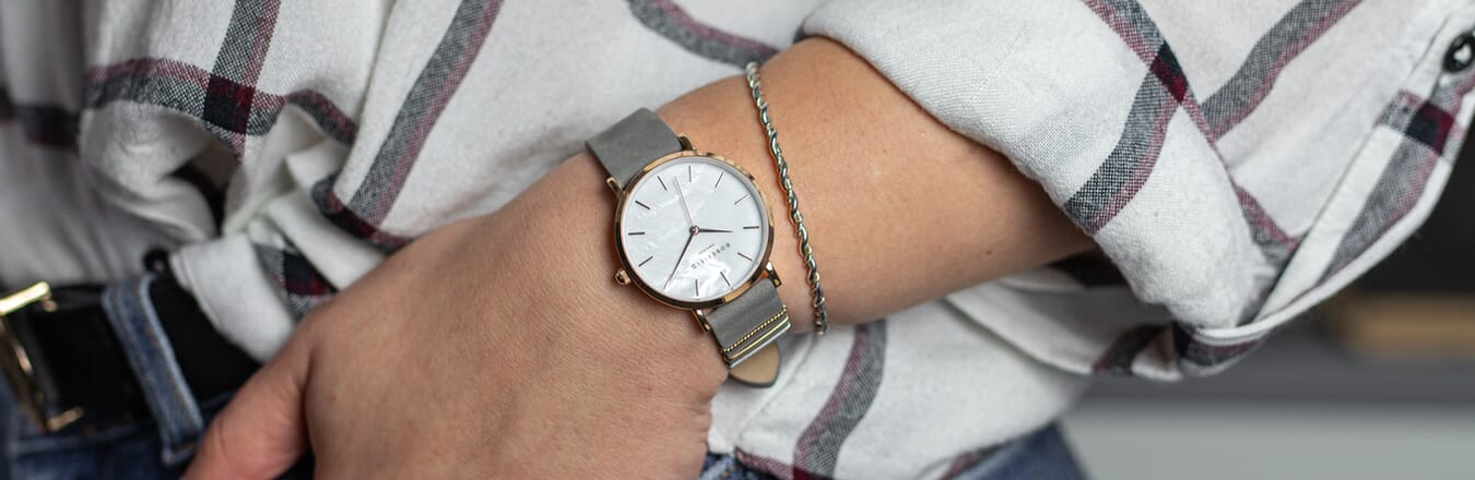 The Rosefield Watch from 'The West Village' Collection...