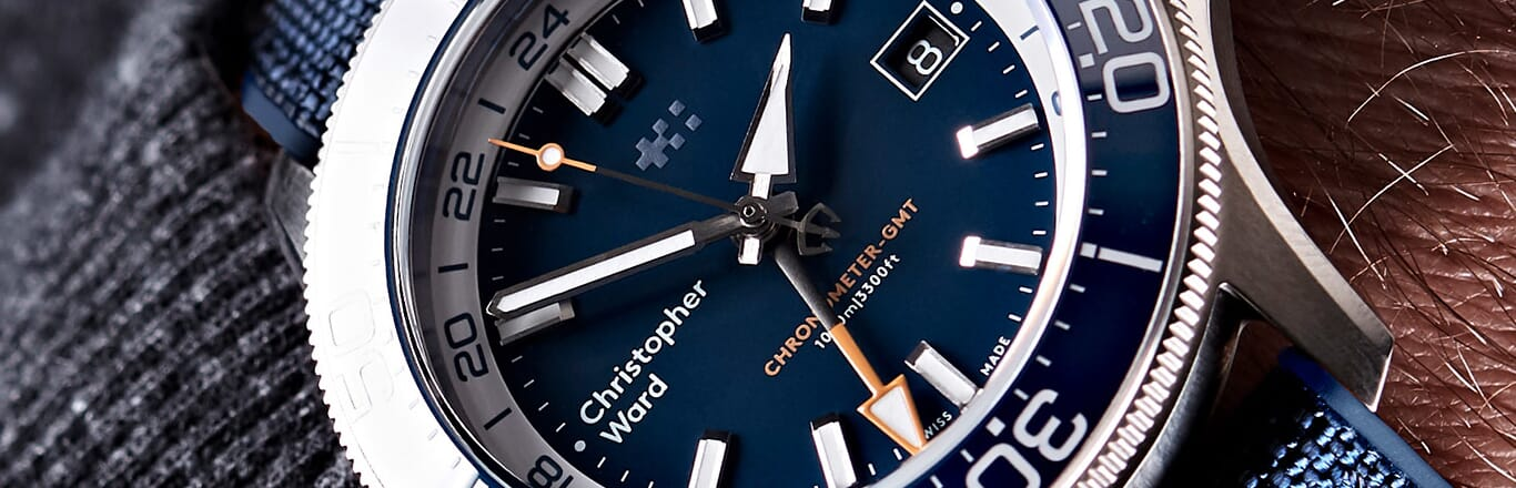 Introducing The NEW C60 Elite GMT 1000 From Christopher Ward