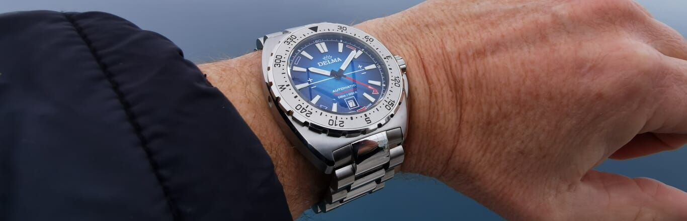 DELMA Launches Oceanmaster Antarctica Limited Edition Watch