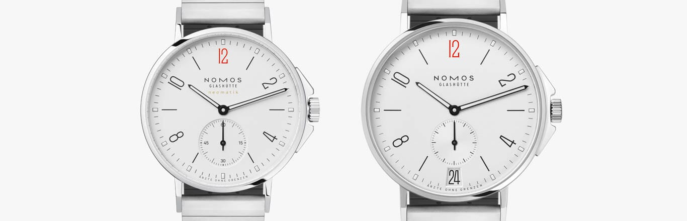 Introducing the new NOMOS Glashütte Limited Edition Doctors Without Borders Pieces