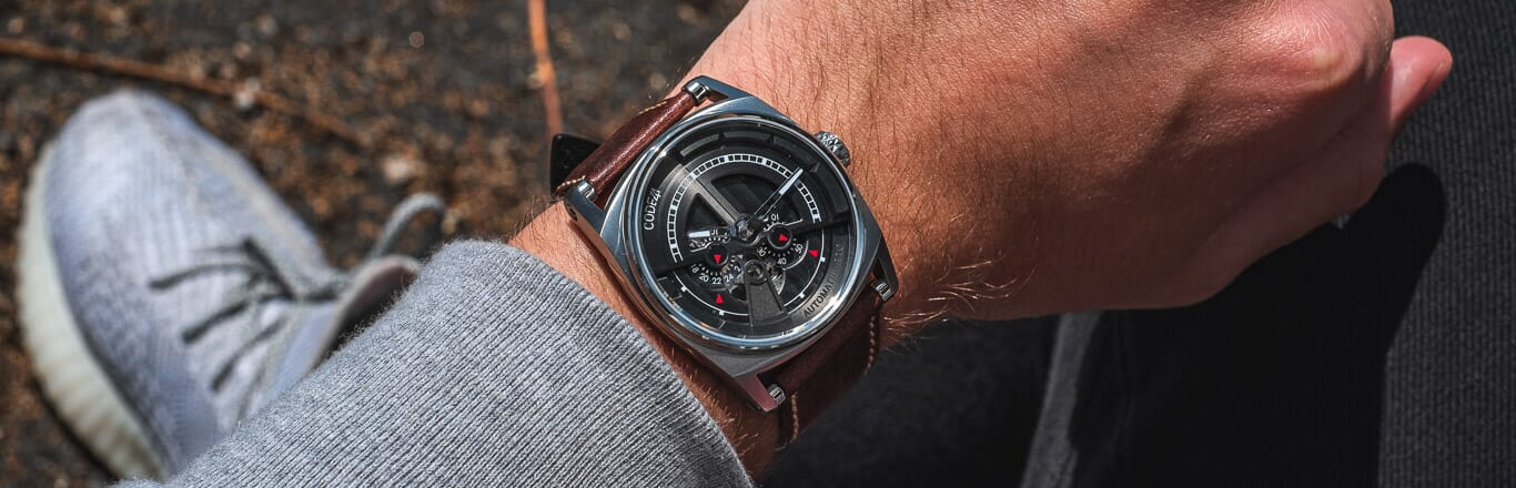 Taking A Look At CODE41 Watches