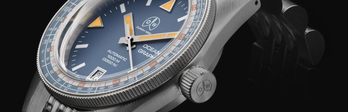 The Ollech & Wajs Ocean Graph - A new heritage inspired diving watch