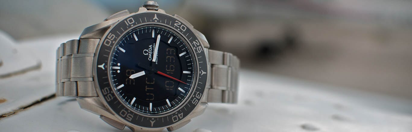Omega X-33 Watch with the Space X Falcon 9 Launches!
