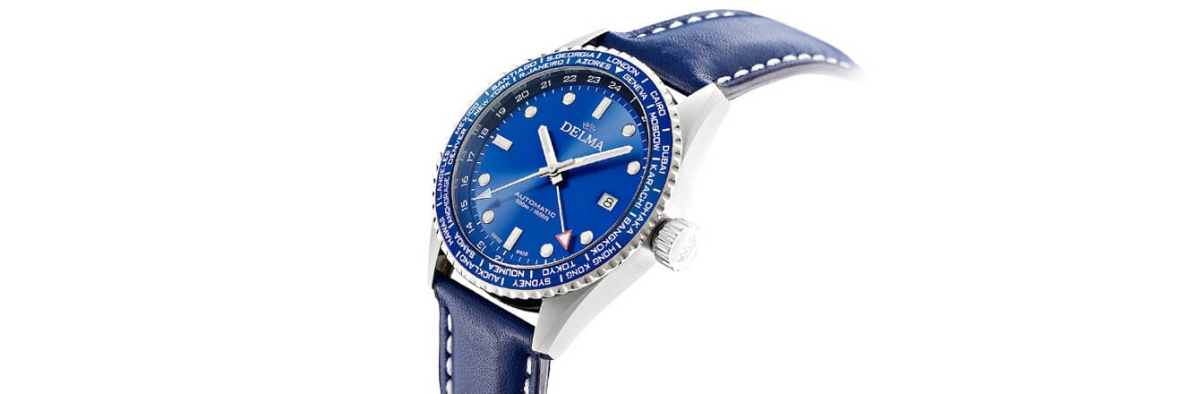 Introducing The New Delma Cayman Worldtimer