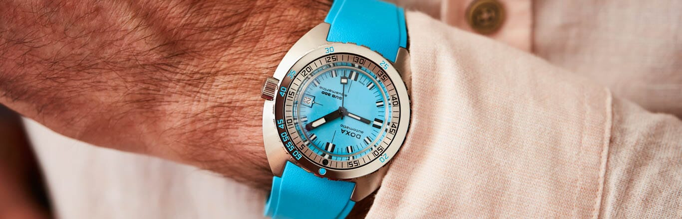 Introducing Six New Colours For The Doxa Sub 300